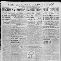 Arizona Republican, July 1, 1920, cover