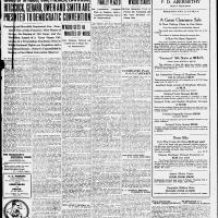 Burlington Daily Free Press, July 1, 1920, cover