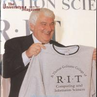 Tom Golisano on Cover of The University Magazine Spring 2001 Box18F5.jpg