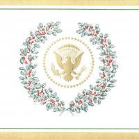 White House Invitation to Bill and Hillary Clinton December 21, 2000 Box17F12.jpg