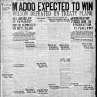 Pittsburg Press, July 1, 1920, cover